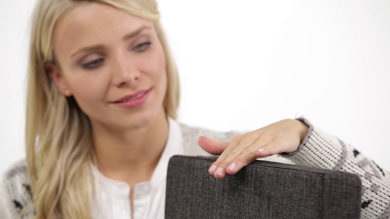 Video von: Faltbarer Sitzhocker mit Lehne