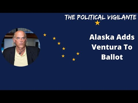 Alaska Green Party Puts Jesse Ventura On Ballot