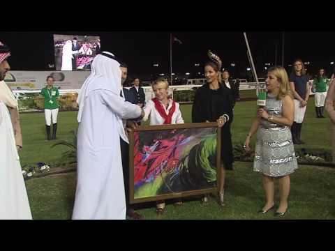 #DubaiRacing Julie Krone Interview