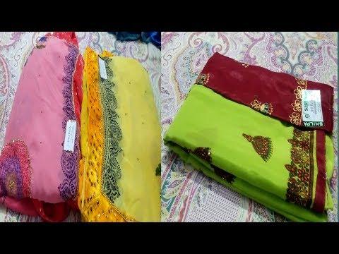 Sarees sale/jimmmiki kamal sarees/Fancy Silk  sarees/Free shipping /Thirumathi Raji/