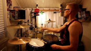 Def Leppard - Miss you in a heartbeat - drum cover