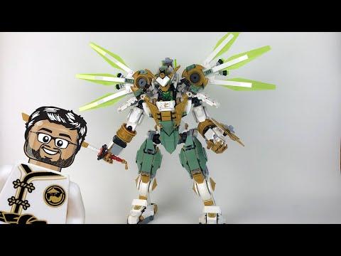 Vidéo LEGO Ninjago 70676 : Le robot Titan de Lloyd