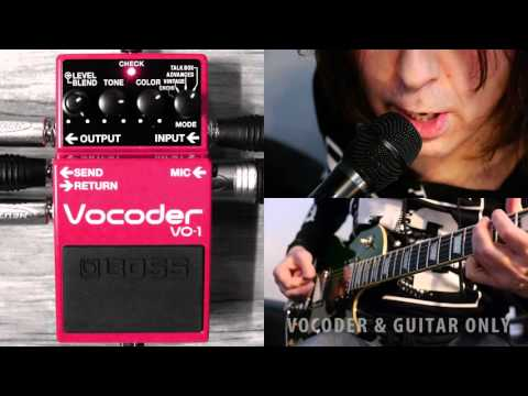 BOSS VO-1 Vocoder Sounds and Settings