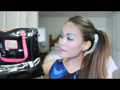 SUMMER BAG HAUL!!! Review of Kenneth Cole Reaction Bag and Ninewest Purse