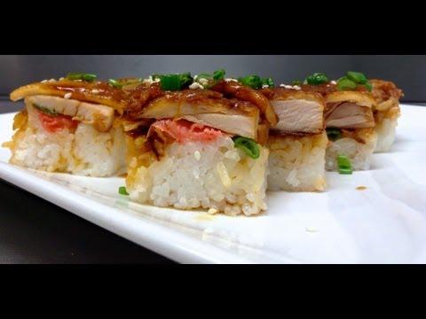 How to make Chicken Teriyaki Sushi
