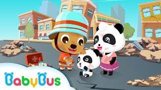 Lagu Tips Keselamatan Gempa + Video / BabyBus Original / Bantuan Mandiri Bagi Siapa Saja
