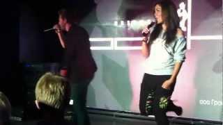 Андрей Grizz-lee и Маша Кольцова в клубе POSH, Новосибирск