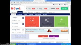 160by2 - Send Free SMS to Indian Mobiles - Part 1