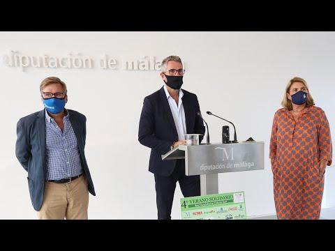 Presentación del IV Verano Solidario del Club Guadalhorce