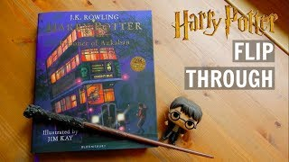 Harry Potter And The Prisoner Of Azkaban Illustrated Edition | Flip Through