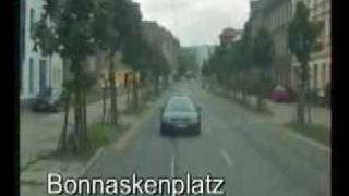 preview picture of video 'Straßenbahn Cottbus linia 1 cz.II'