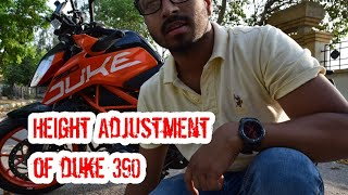 Seat height Adjustment of Ktm Duke 390 | seat height problem solved|