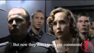 Hitler's reaction to Youtube's new design (November 2013)