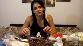 איך ליצור דמות מבצק סוכר (כלב דלמטי)