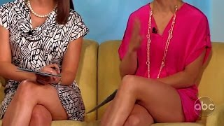 Elisabeth Hasselbeck & S.E. Cupp - Sexy Legs (Throwback) 7-14-11