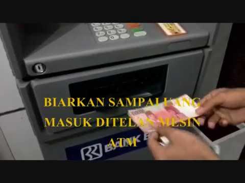 TUTORIAL SETOR TUNAI DI ATM BRI  /CARA MENABUNG DI ATM