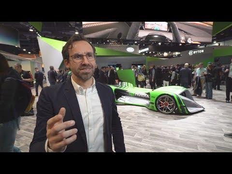 NVIDIA and Roborace at CES 2018 (видео)