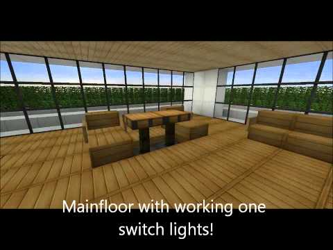 A Very Nice Modern House With An Insane Pool Minecraft Project