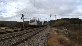 preview picture of video 'Renfe 253 TECO Castellbisbal.'