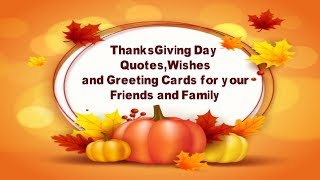 Best Thanksgiving day Messages | Thanksgiving day quotes , wishes and greeting cards