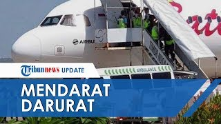 Video Detik-detik Pilot Batik Air Dievakuasi setelah Pesawat Mendarat Darurat di Kupang