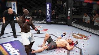 МАШИНА СМЕРТИ КИМБО СЛАЙС в ДЕЙСТВИИ UFC 3