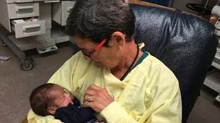 Need a snuggle? Vulnerable infants bond with volunteer cuddlers at Toronto hospital