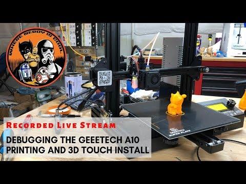 Geeetech A20M upload the firmware guide - смотреть онлайн на