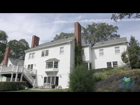 Connecticut Gutter LLC takes us back on the job, installing a handsome RainPro rain gutter system with Microguard. This beautiful home is in Greenwich, CT and deserves the very best in looks and high performance. Frank Heneghan explains his company's methodology behind gutter system design and explains with RainPro is the best system available today.