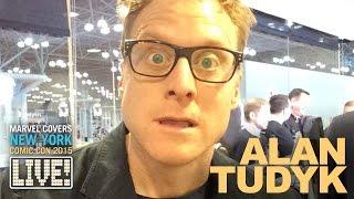 Alan Tudyk Joins Marvel LIVE!