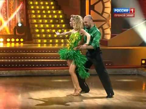 Глюк'oZa и Евгений Папунаишвили - самба (полуфинал) видео