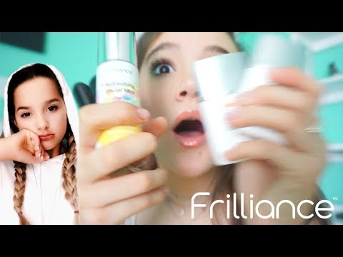 Frilliance Makeup Review With Annie LeBlanc, Summer McKeen & So Many More! FionaFrills Vlogs