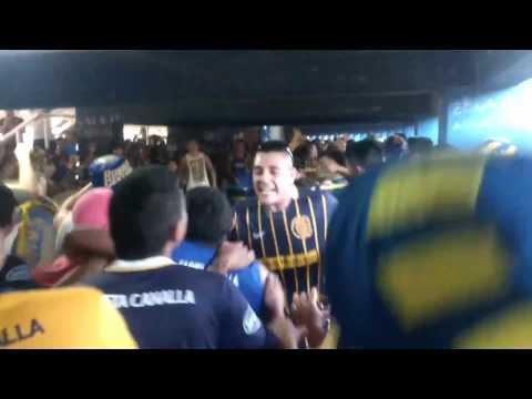 """""""Previa de Los Guerreros Vs Lanús 2016"""" Barra: Los Guerreros • Club: Rosario Central"""