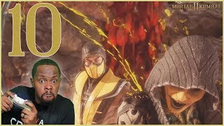 IT WAS TOO LATE! HE'S GONNA DIE! - (MK11 Story Chapter 10)