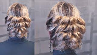 """Причёска с резинками """"5 минут""""   Авторские причёски   Лена Роговая   Hairstyles by REM   Copyright ©"""