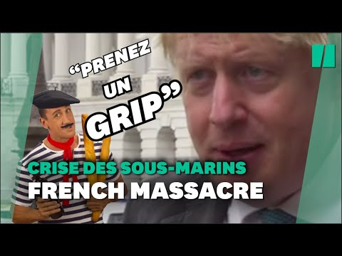 """Sous-marins: Boris Johnson appelle la France à se """"ressaisir"""" et à le """"laisser tranquille"""""""