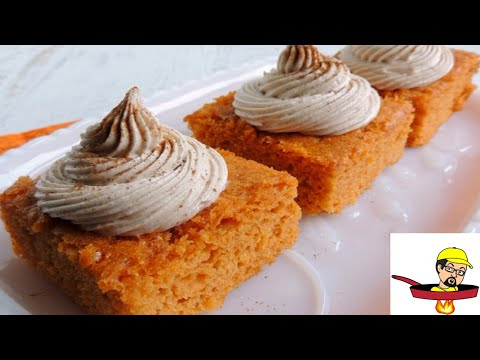 Video Pumpkin Pie Angel Food Cake - Halloween