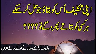 Urdu Quotes About Life Lessons | Beautiful Quotes Status | Friend Ship Quotes | Hindi Motivational |