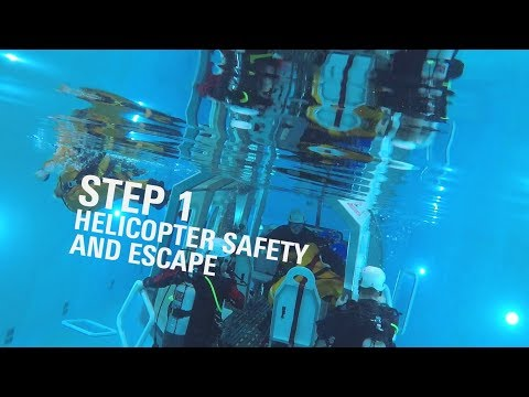 BOSIET safety training: Keeping your head above water - YouTube