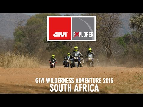 GIVI wilderness adventure in South Africa - August 2015