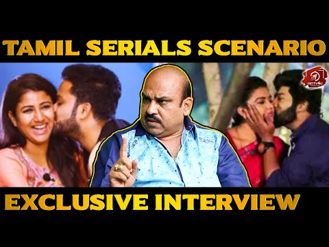 Kissing Scenes In Tamil Serials! | Ravi Varma | President Of Chinnathirai | Exclusive Interview