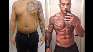 Best Chubby Fat To Fit Muscular Body Transformation 2015