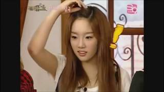 Taeyeon is small (Taeyeon talking about her height compilation)