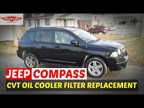 Nissan Mitsubishi Jeep CVT RE0F10A Cooling Line Filter How to