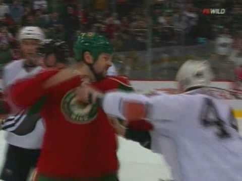 Sheldon Souray vs Craig Weller