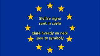 Evropská Hymna (překlad) - Anthem of EU (CZ)