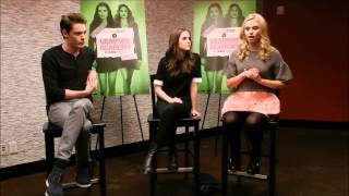 Доминик Шервуд, Vampire Academy Cast Interview