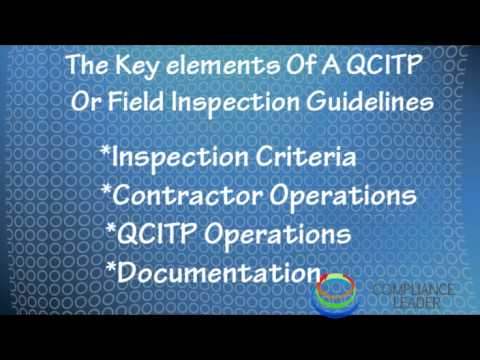 What is the Inspection and Test Plan (ITP) ? | Mande Blog