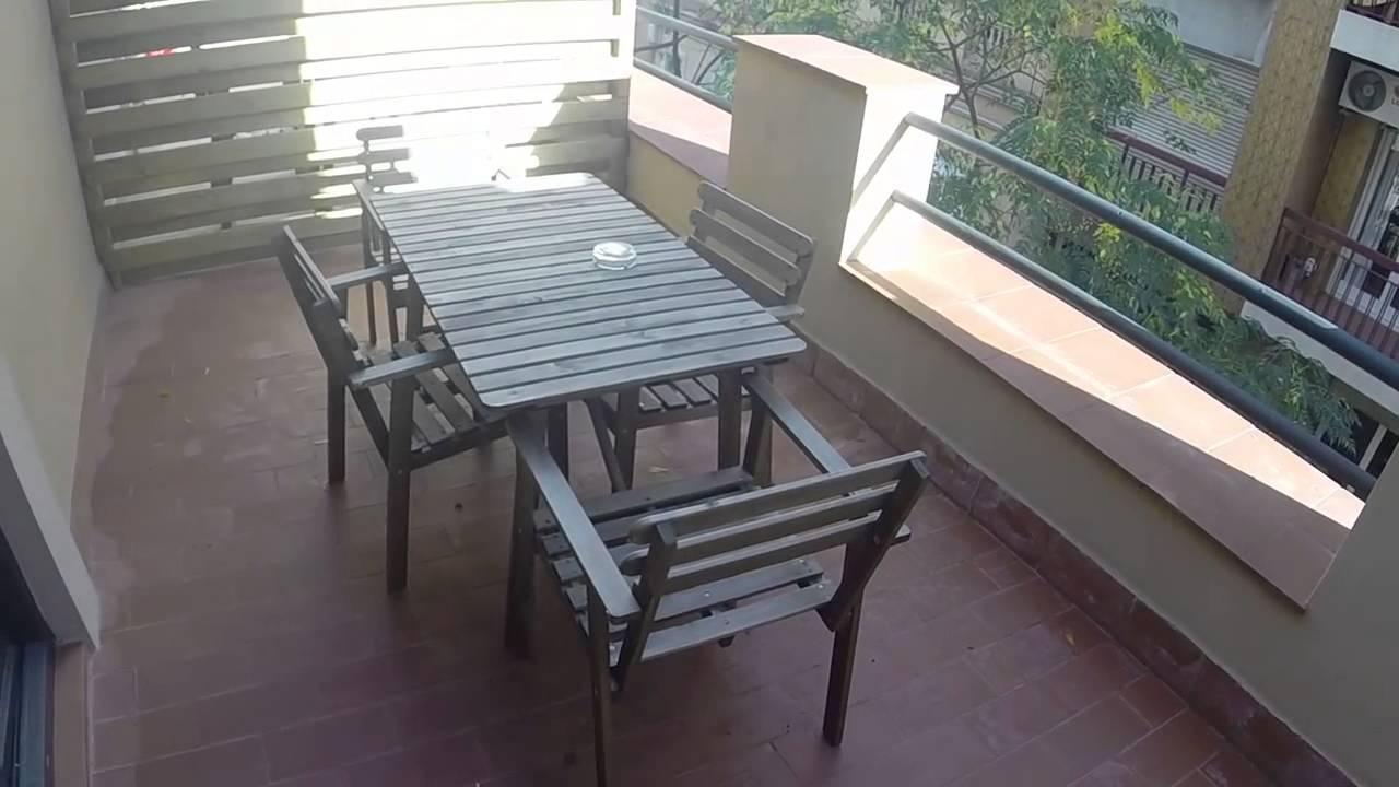One bedroom apartment with sunny terrace near the Sagrada Familia