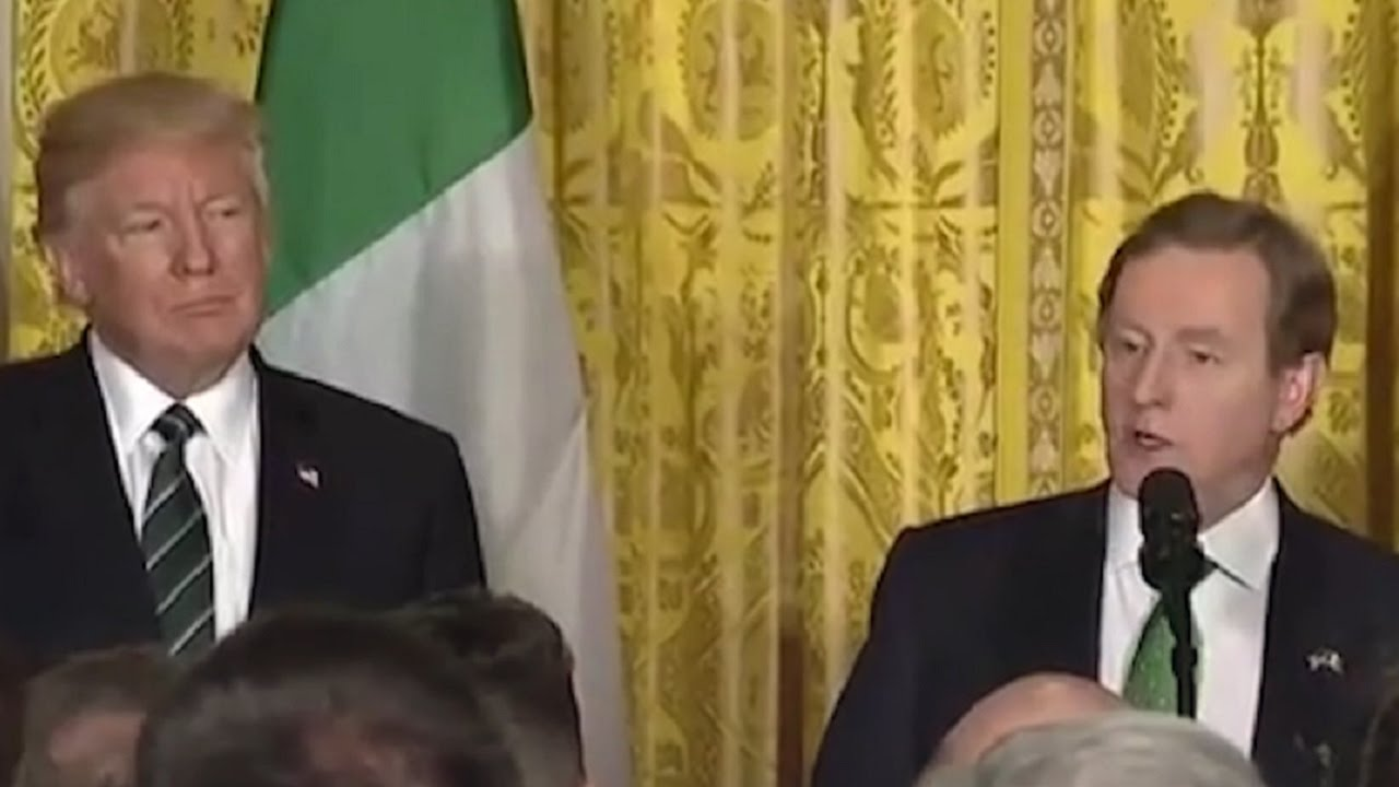 Irish PM Gives Pro-Immigration Speech Right In Trump's Face thumbnail